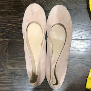 J. Crew Shoes - jcrew suede ballerina flats
